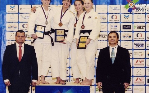 Making big waves in the world of Judo