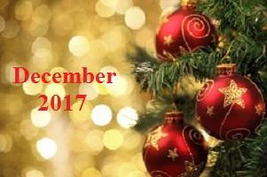 Practice Newsletter – December 2017