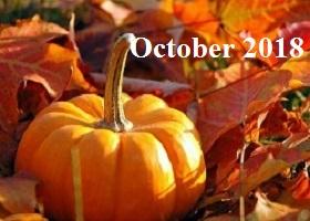 Practice Newsletter – October 2018