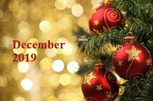 Practice Newsletter – December 2019