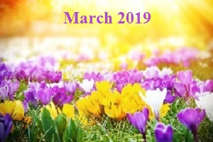 Practice Newsletter – March 2019